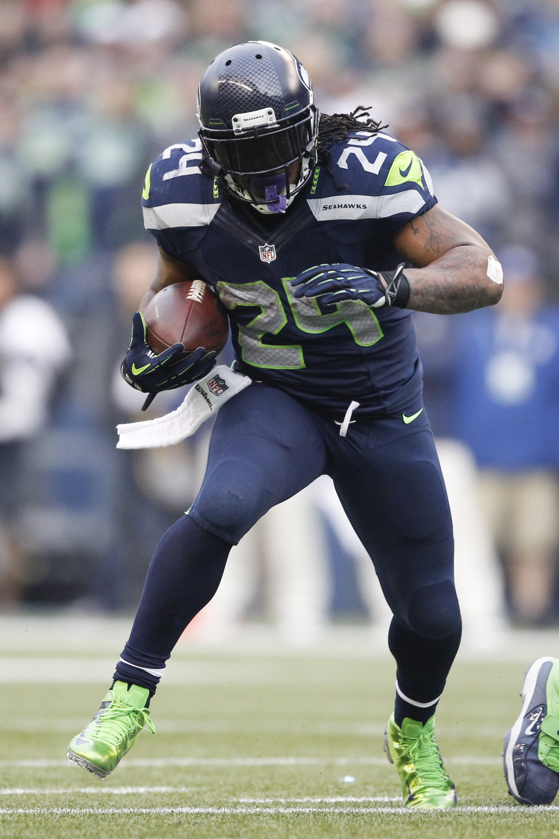 Marshawn Lynch Hasnt Filed Retirement Papers