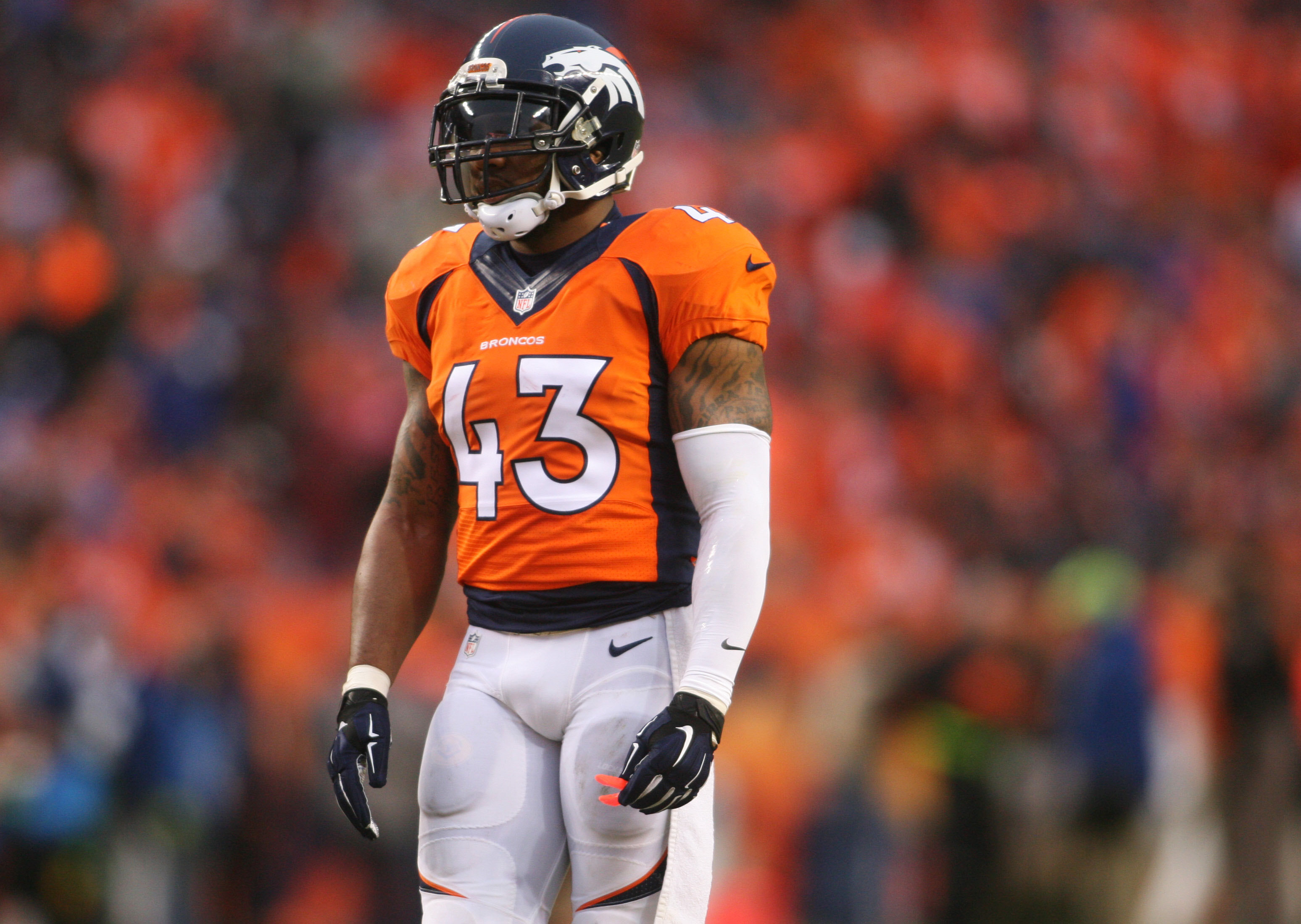 Broncos T J Ward Suspended One Game