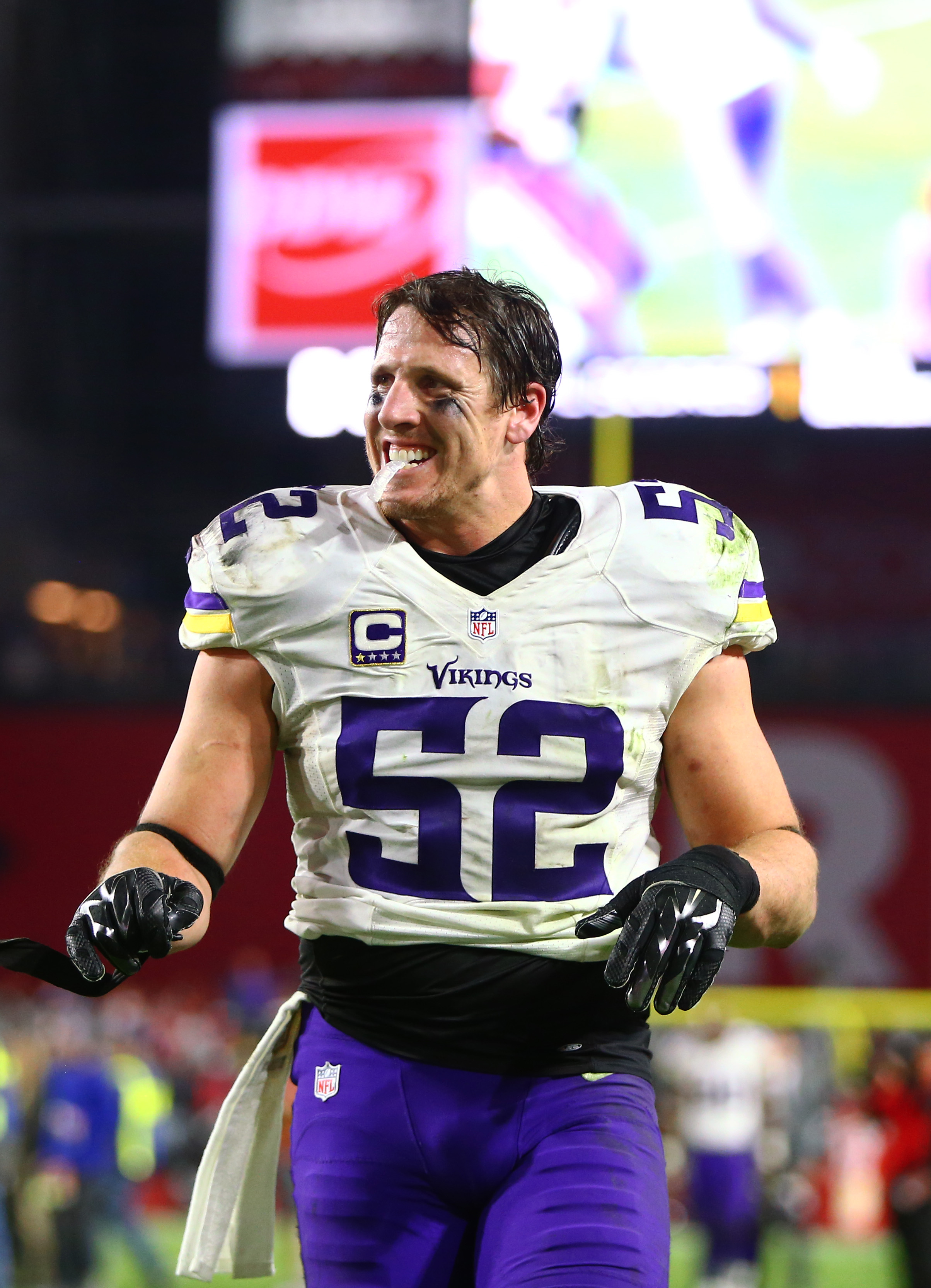 wholesale dealer c2dd6 09788 Vikings' Chad Greenway Expects To Play In 2016