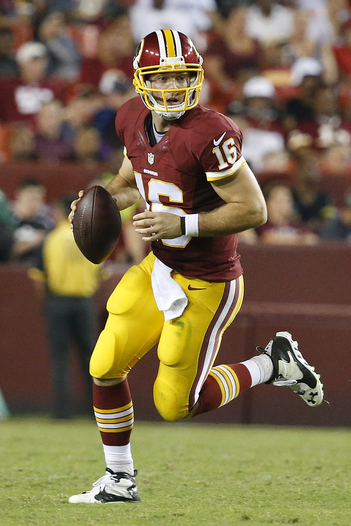 469cb54ae Redskins QB Colt McCoy Could Become Free Agent In 2019