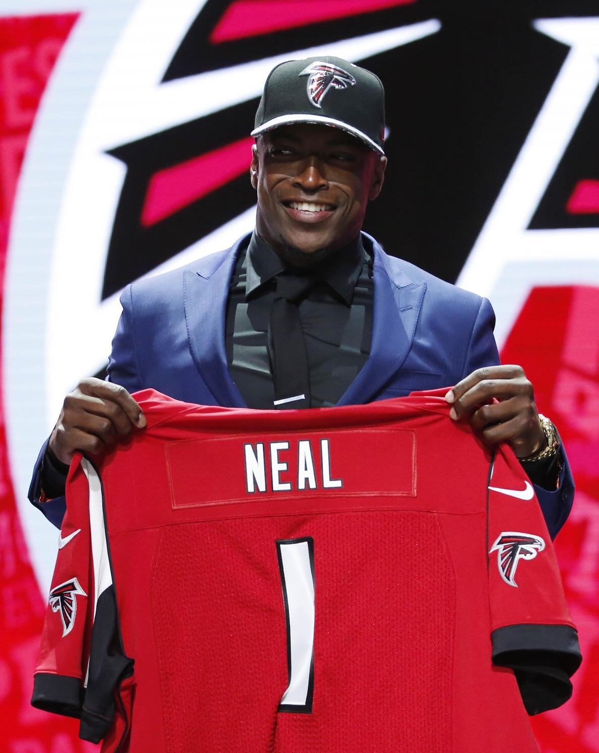 nfl GAME Atlanta Falcons Keanu Neal Jerseys