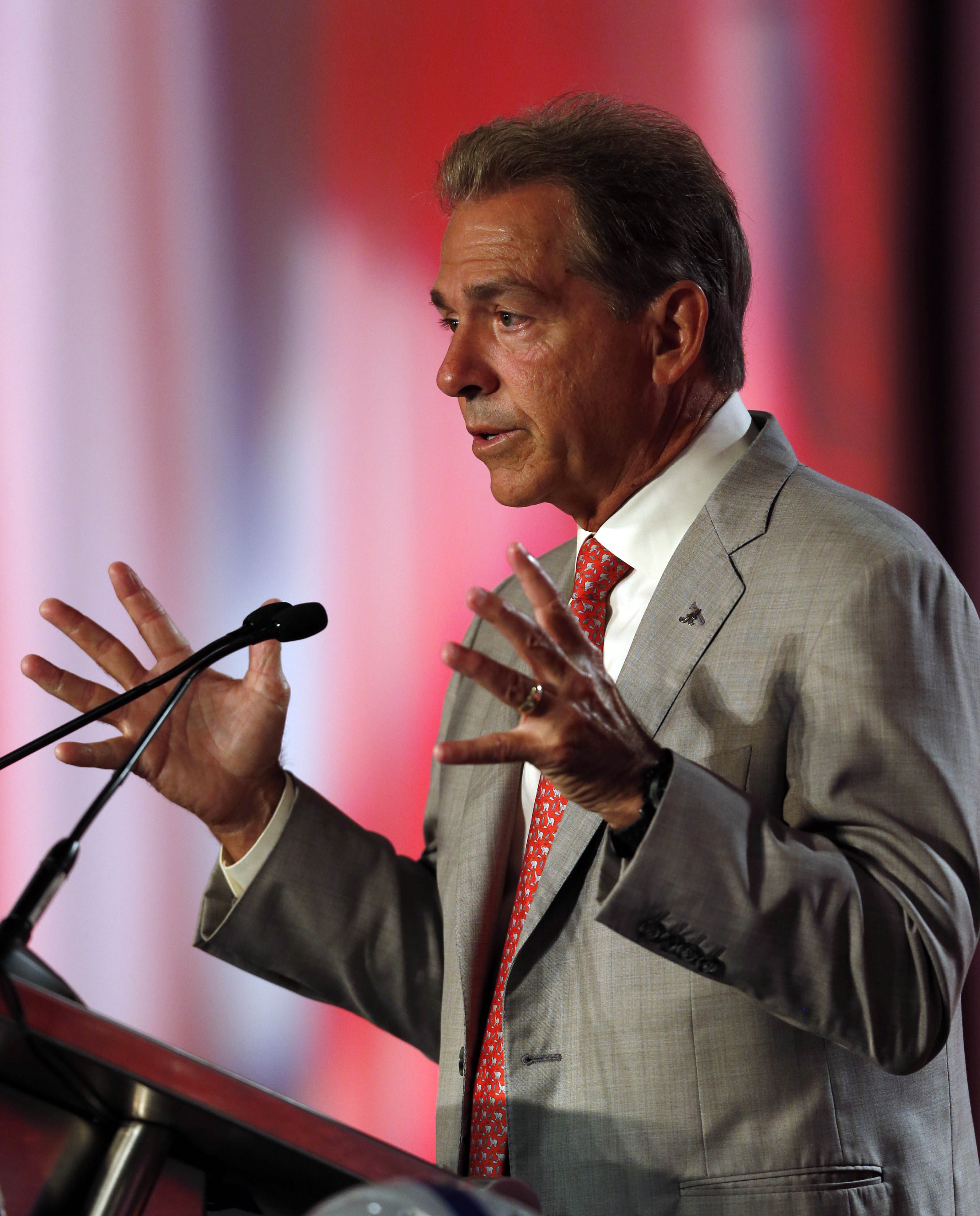 nick saban pro football rumors