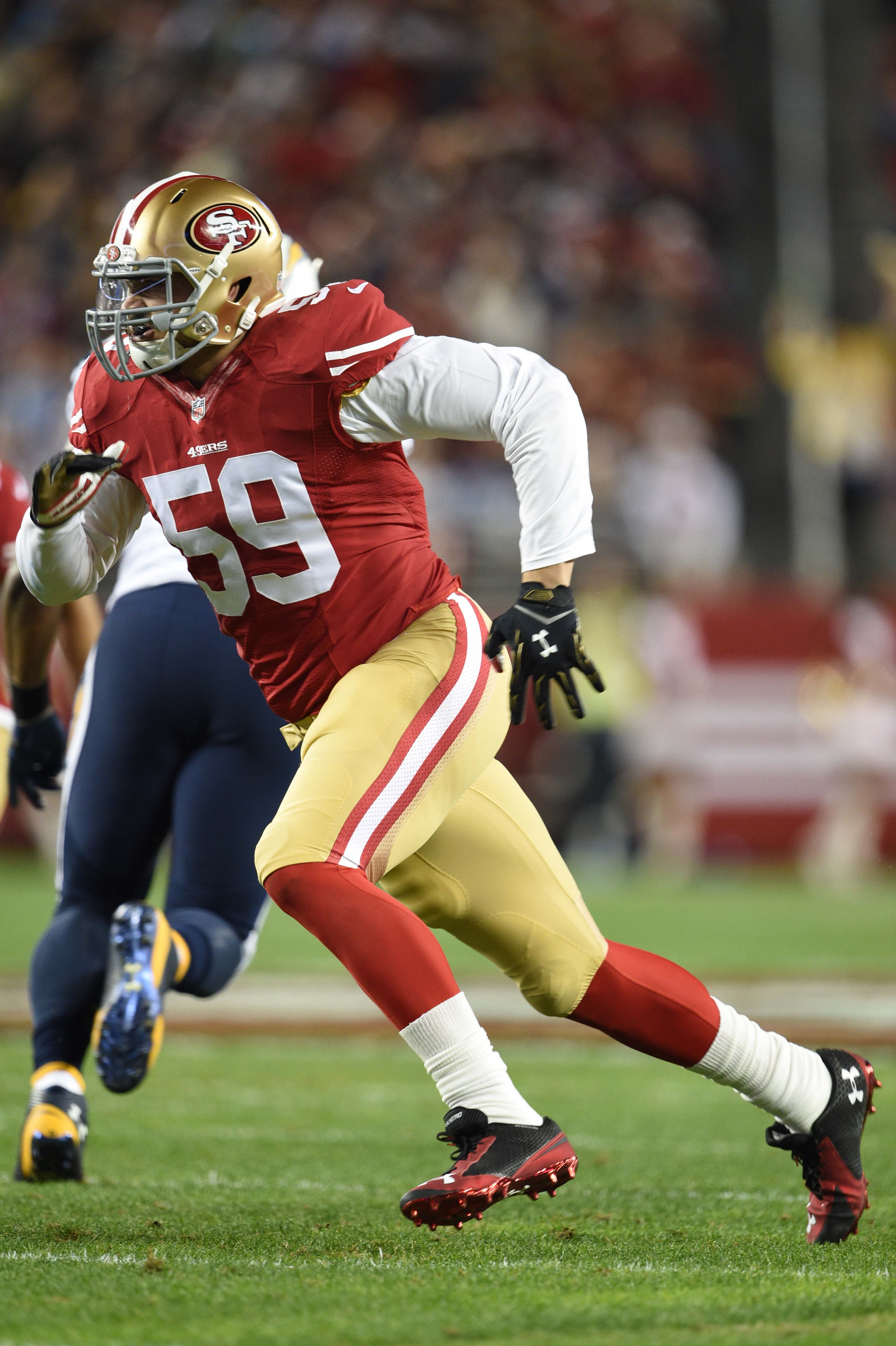 4d85e7feb The Bears will sign free agent edge rusher Aaron Lynch to a one-year deal