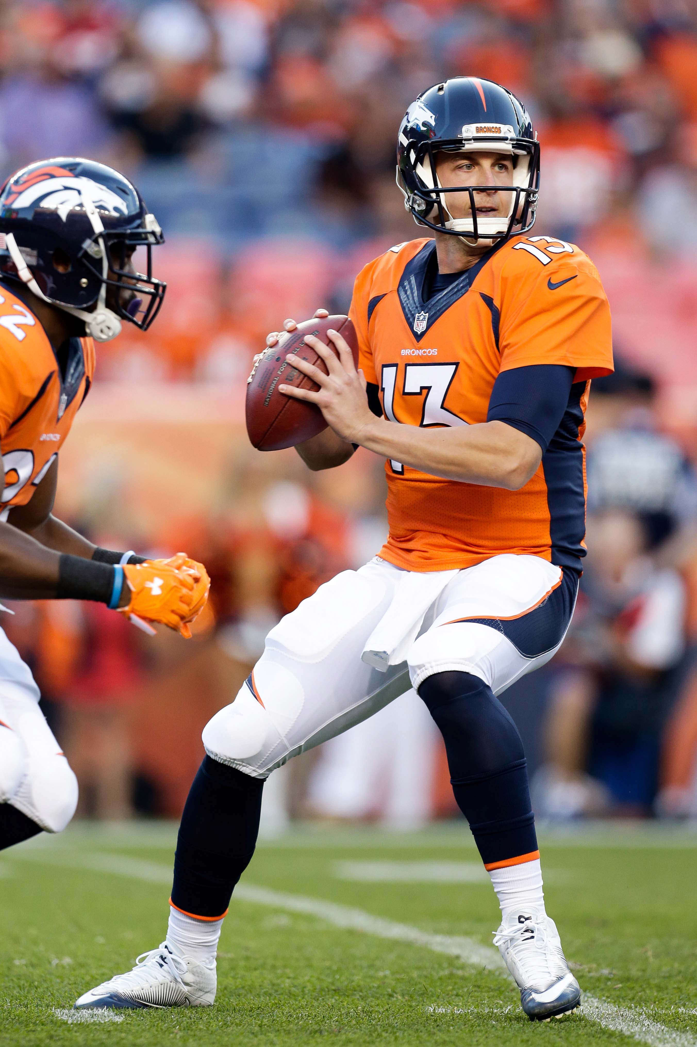 Discount Broncos To Start Paxton Lynch In Week 5  hot sale