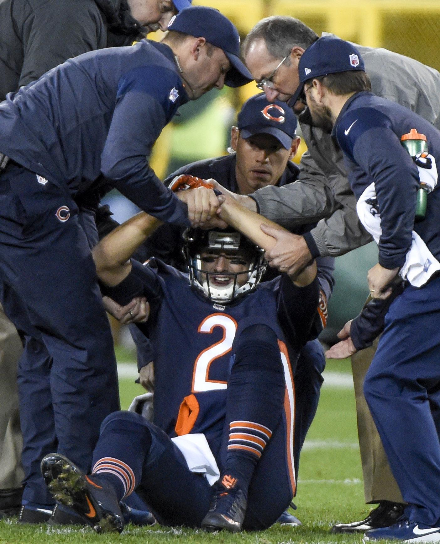 e787319df3d Bears QB Brian Hoyer To Undergo Surgery