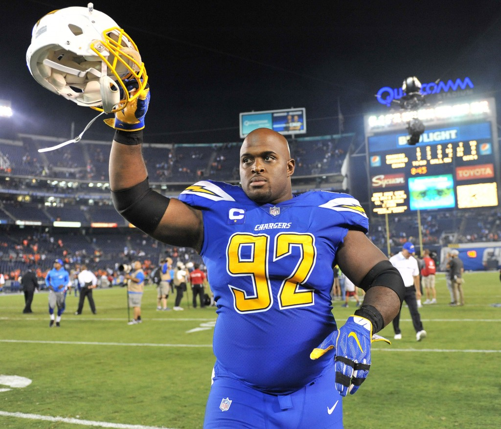 San Diego Chargers Defensive Line: Chargers Lose DL Brandon Mebane For Season