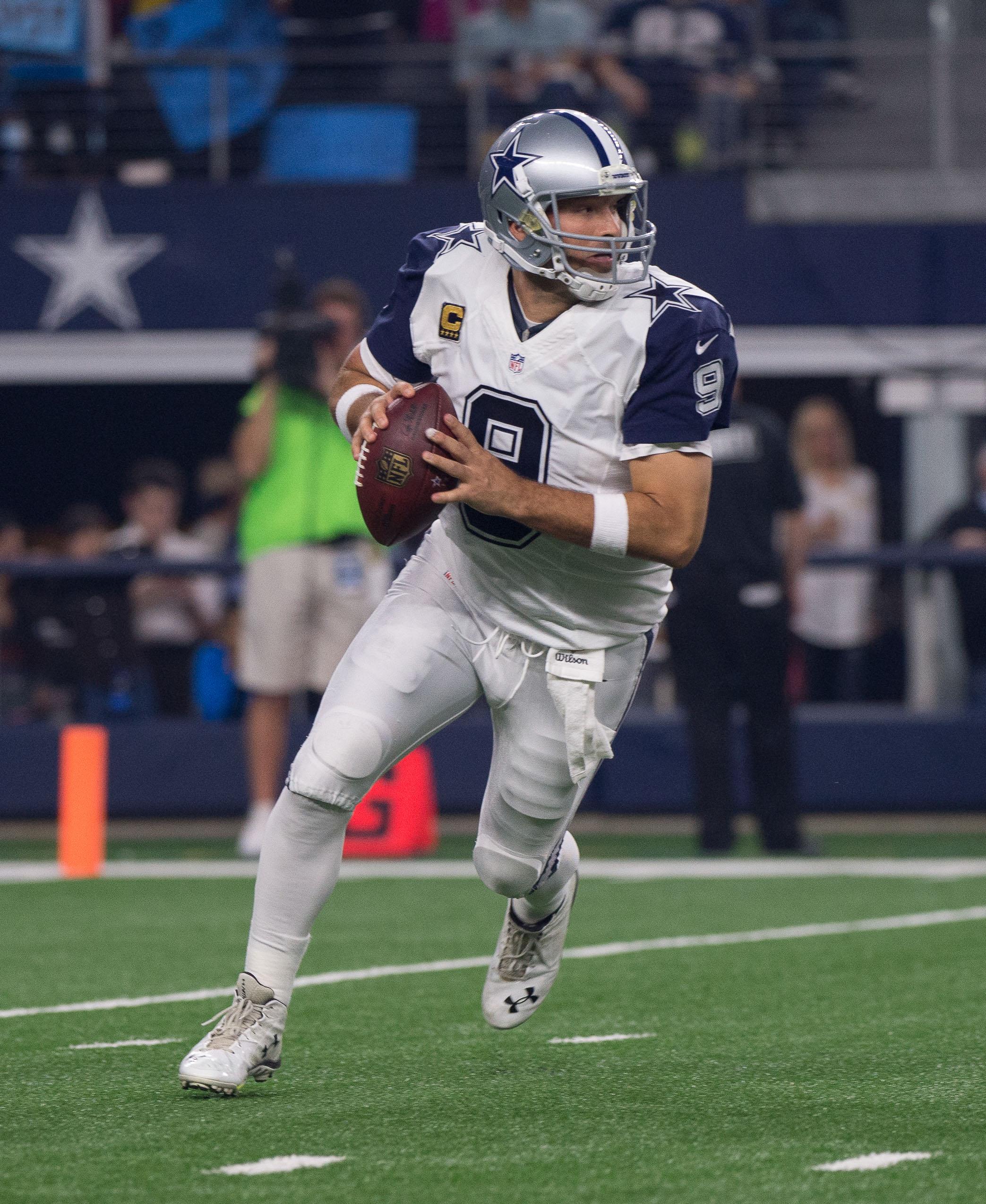 """Tony Romo """"Done"""" Playing Football"""