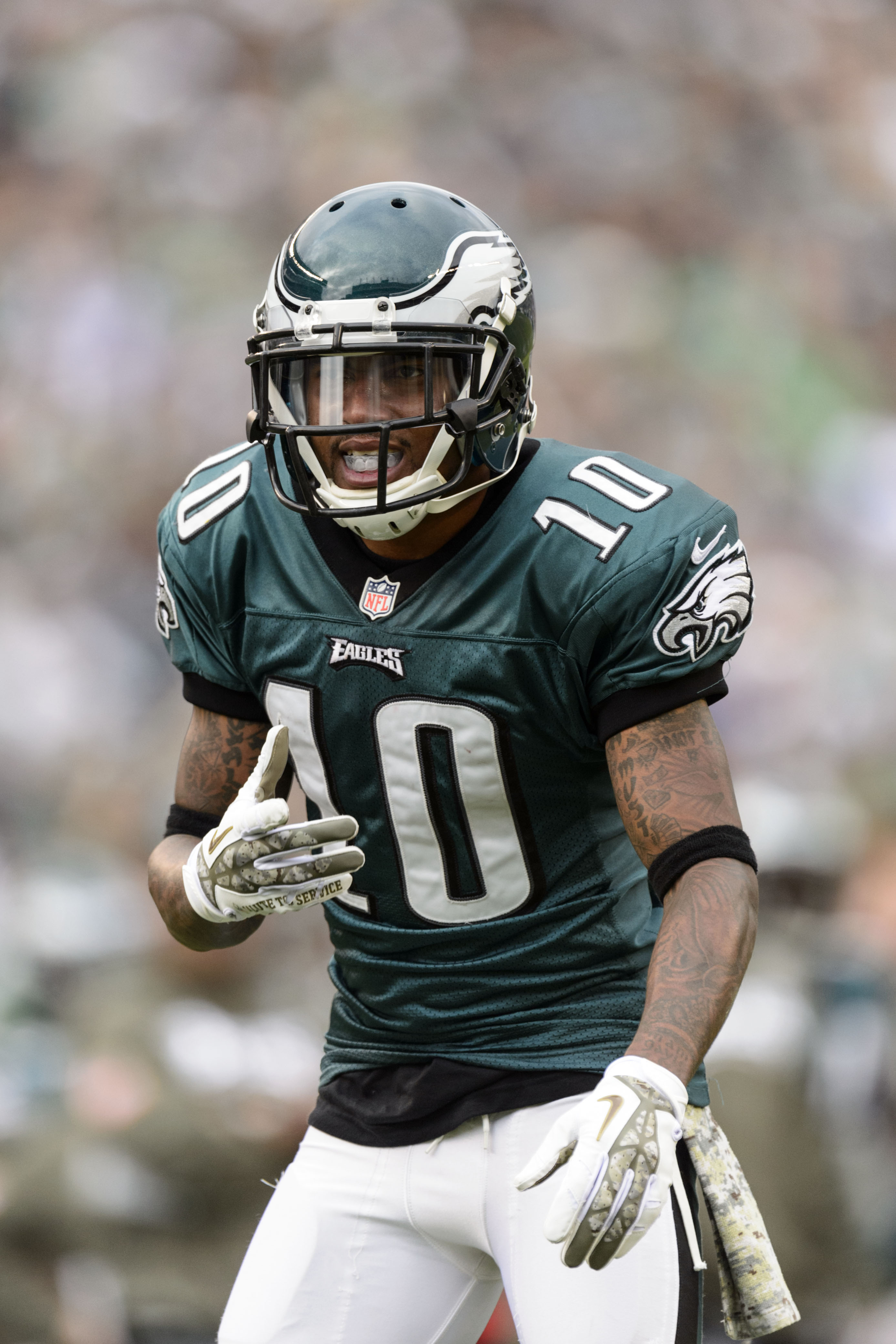 Howie Desean Jackson Interested In Eagles Reunion