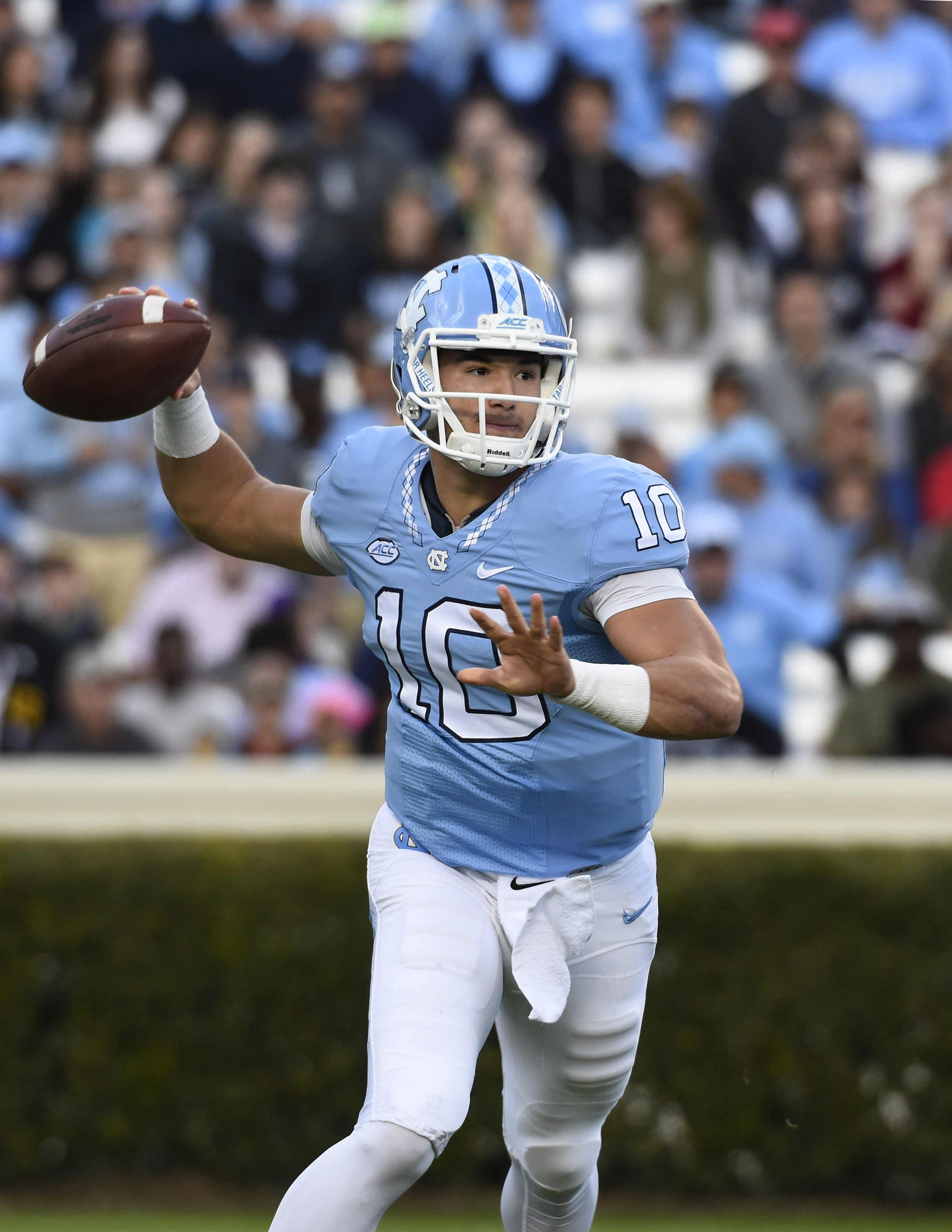 huge discount 00620 5568f UNC QB Mitch Trubisky To Enter NFL Draft