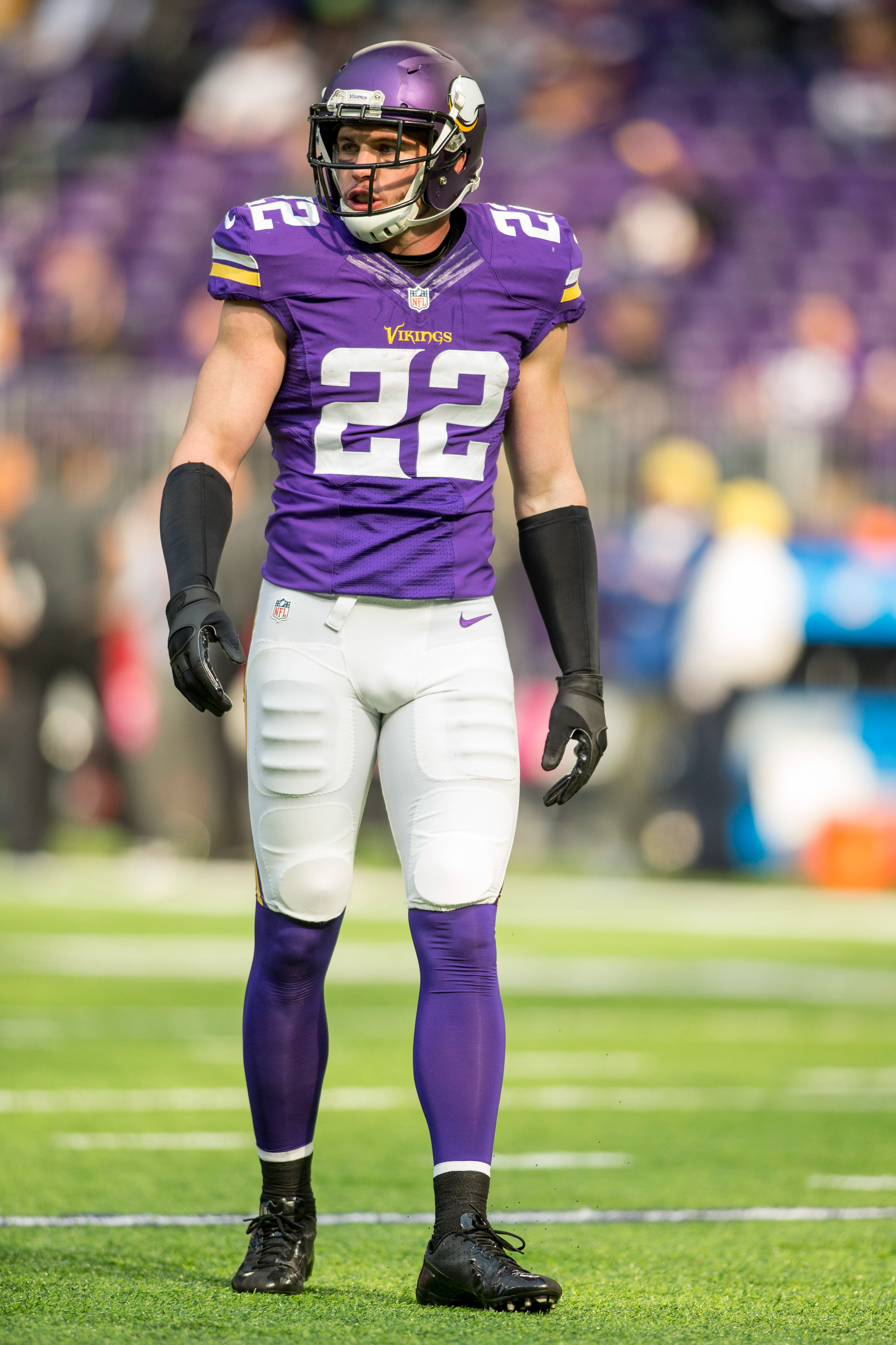 best sneakers a6a1c 6fd61 Vikings' Harrison Smith Could Miss Rest Of Season