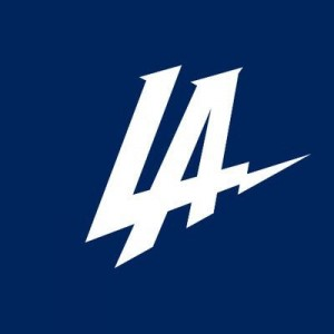 Los Angeles Chargers logo (vertical)