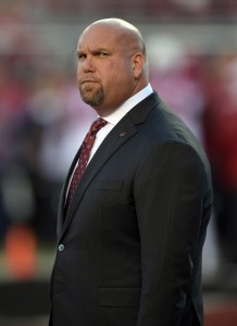 Oct 6, 2016; Santa Clara, CA, USA; Arizona Cardinals general manager Steve Keim before a NFL game against the San Francisco 49ers at Levi's Stadium. Mandatory Credit: Kirby Lee-USA TODAY Sports