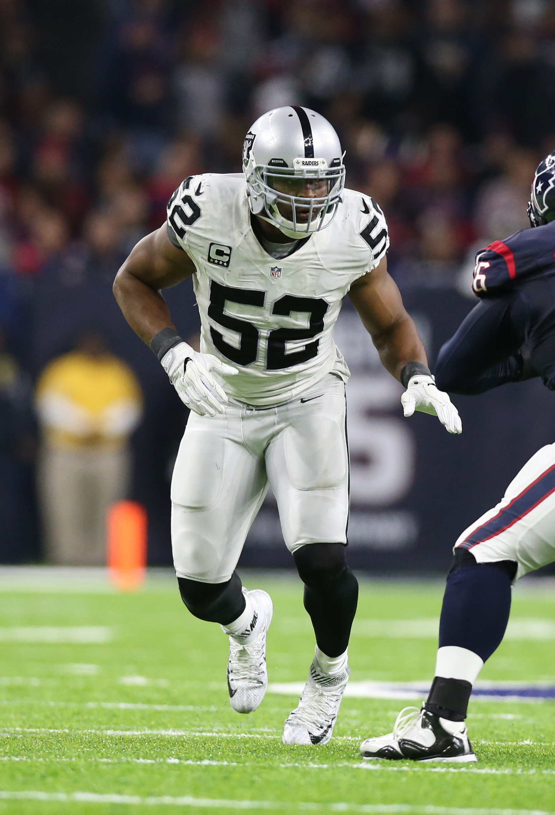 Oakland Raiders defensive end Khalil Mack is searching for a lucrative contract extension and hes planning to not attend this weeks minicamp Ian