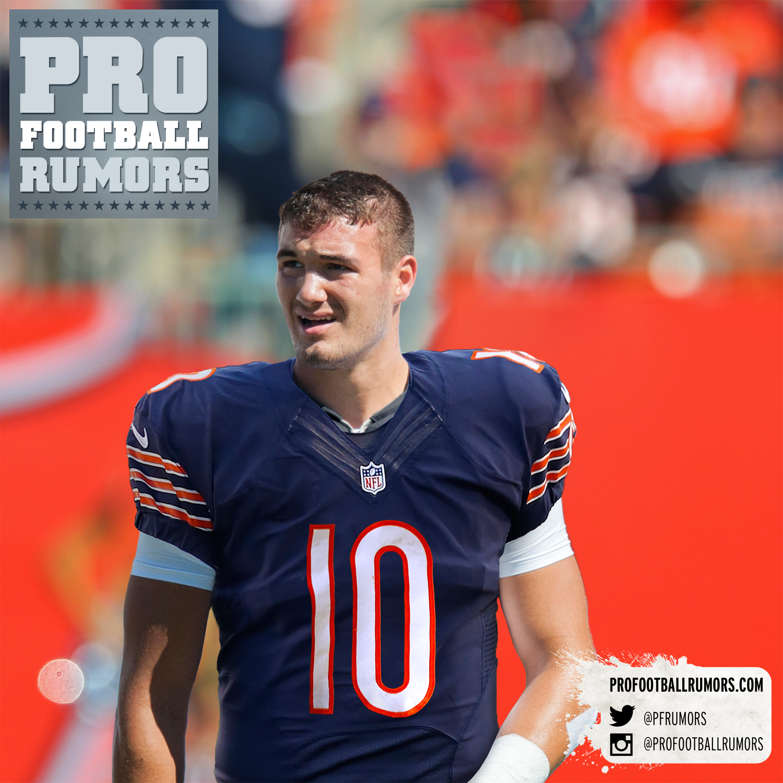 buy popular 2a171 b1ff7 Bears Acquire No. 2 Pick, Take Mitch Trubisky