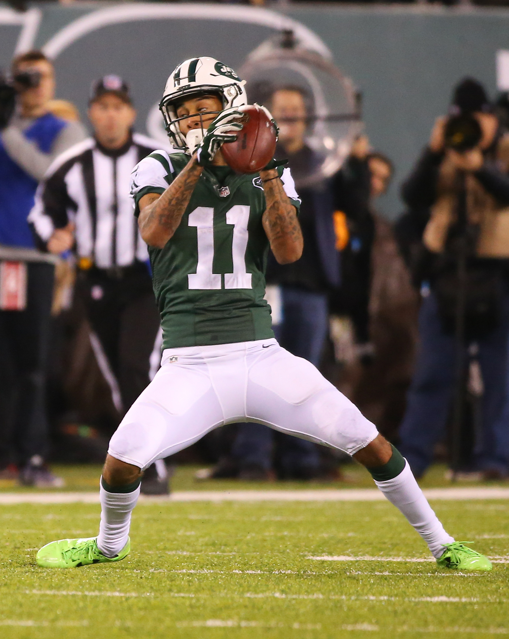 huge discount 9f949 721d2 Jets' Robby Anderson Doesn't Want Restricted Free Agent Tender