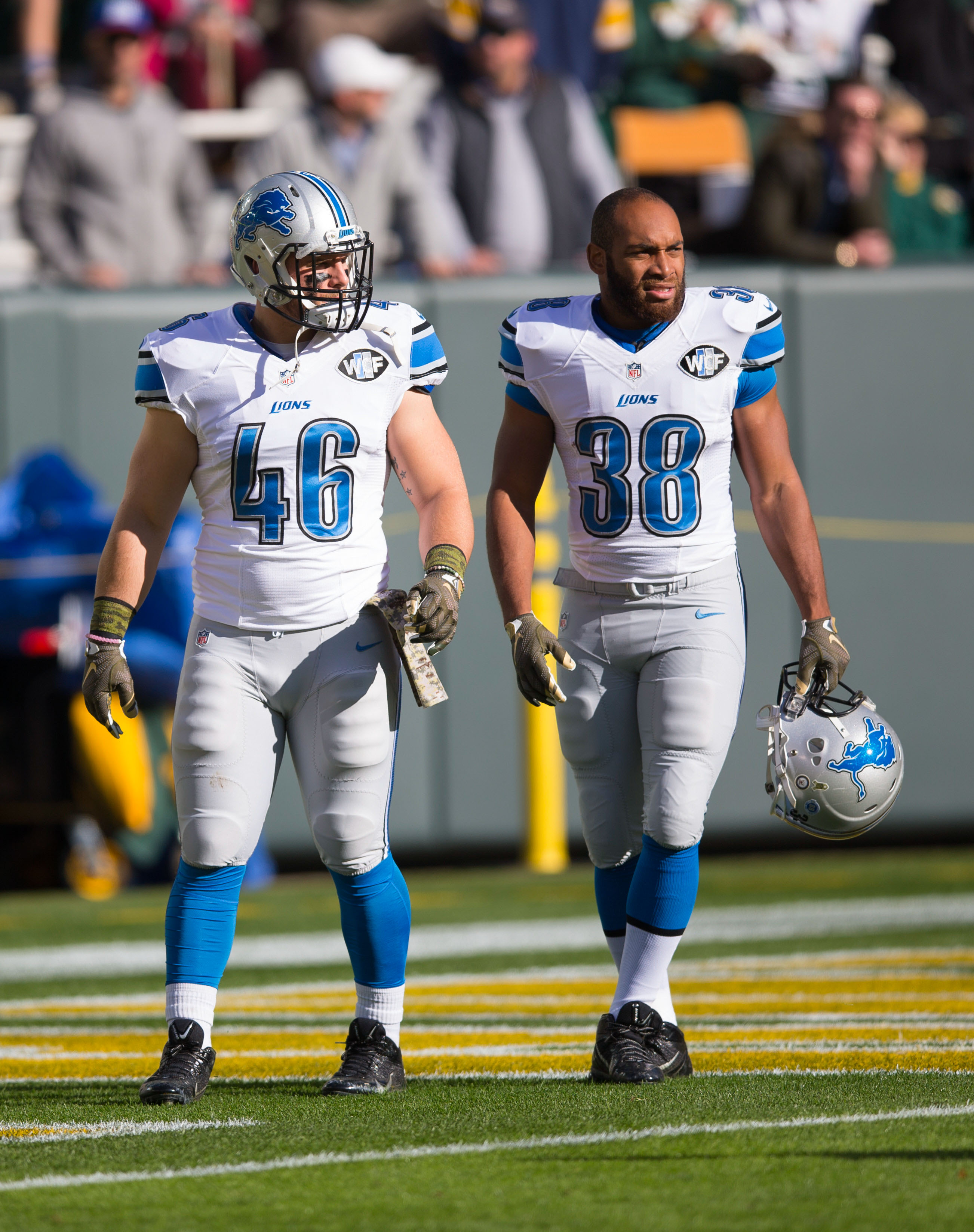 low priced 83114 2d742 Lions To Waive FB Michael Burton