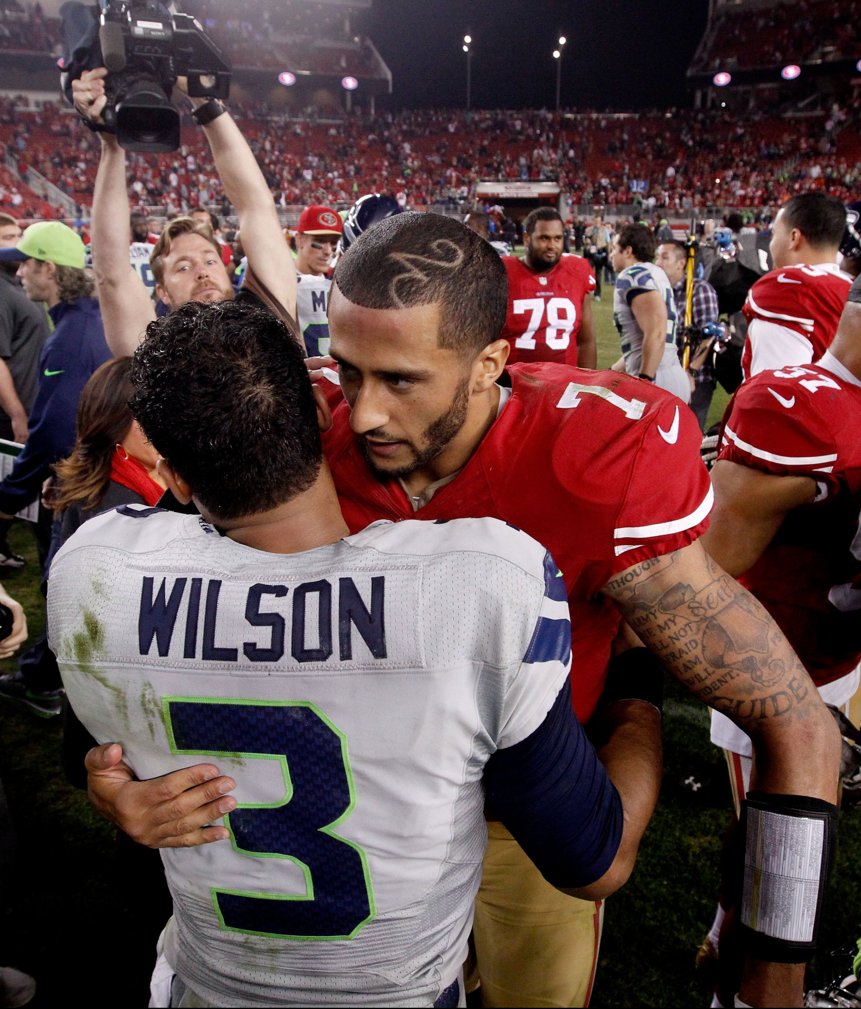 Colin kaepernick to seahawks likely to happen to meet with colin kaepernick this offseason about a potential roster spot and the latest coming out of the league is pointing the former 49ers starter m4hsunfo