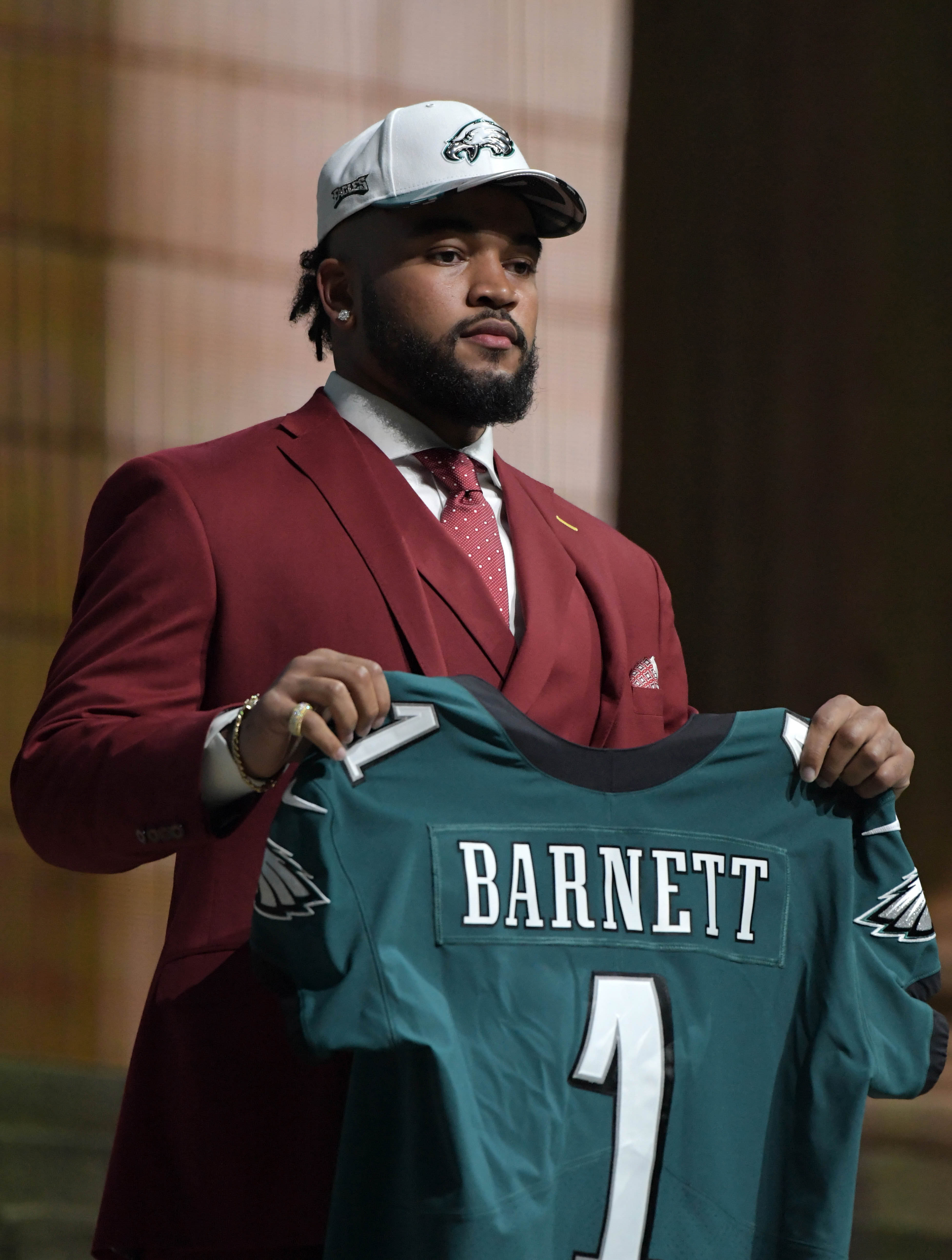 size 40 d6127 b3def Eagles DE Derek Barnett Underwent Surgery