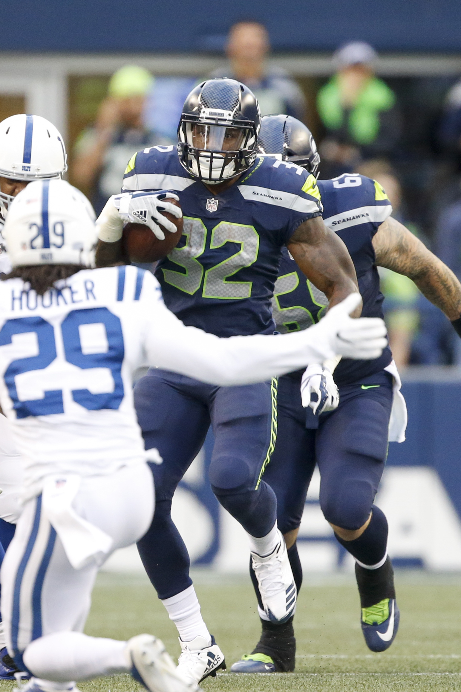 Chris Carson Pro Football Rumors