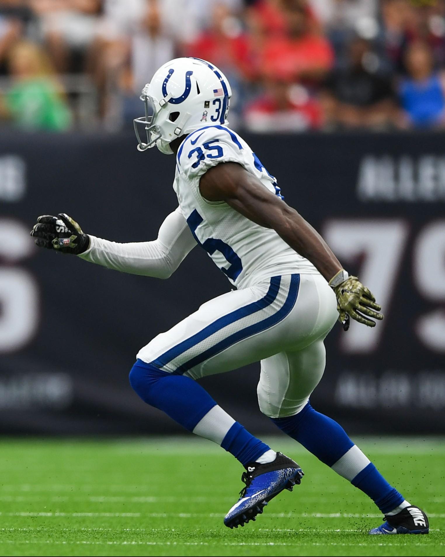 Colts Re-Sign CB Pierre Desir