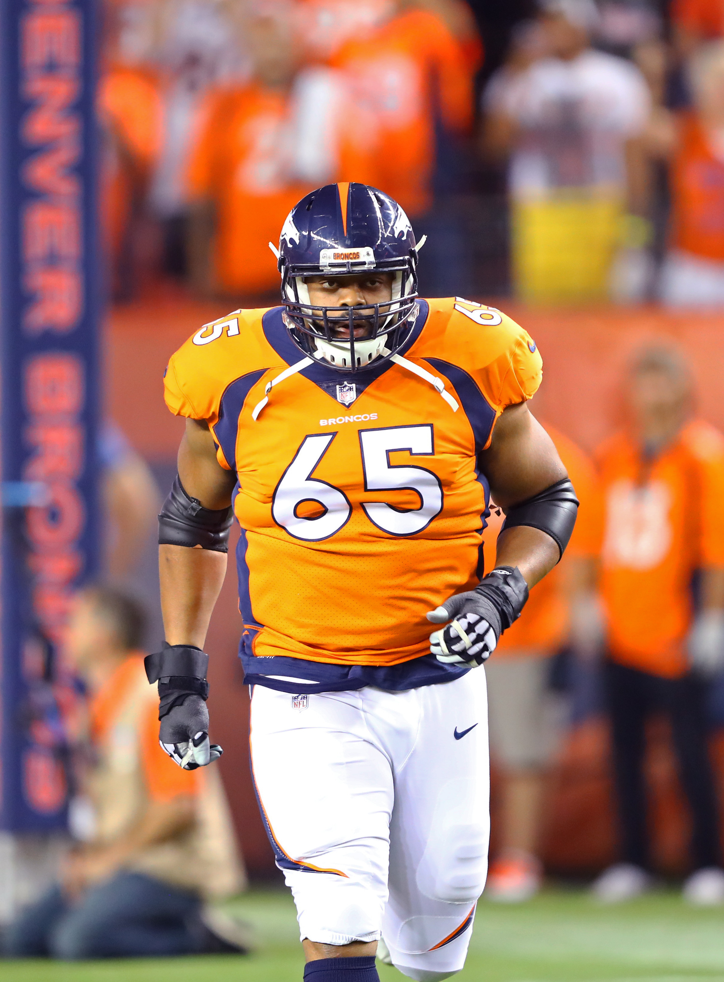 super popular bea4d 437bb Broncos Fear G Ronald Leary Has Torn Achilles