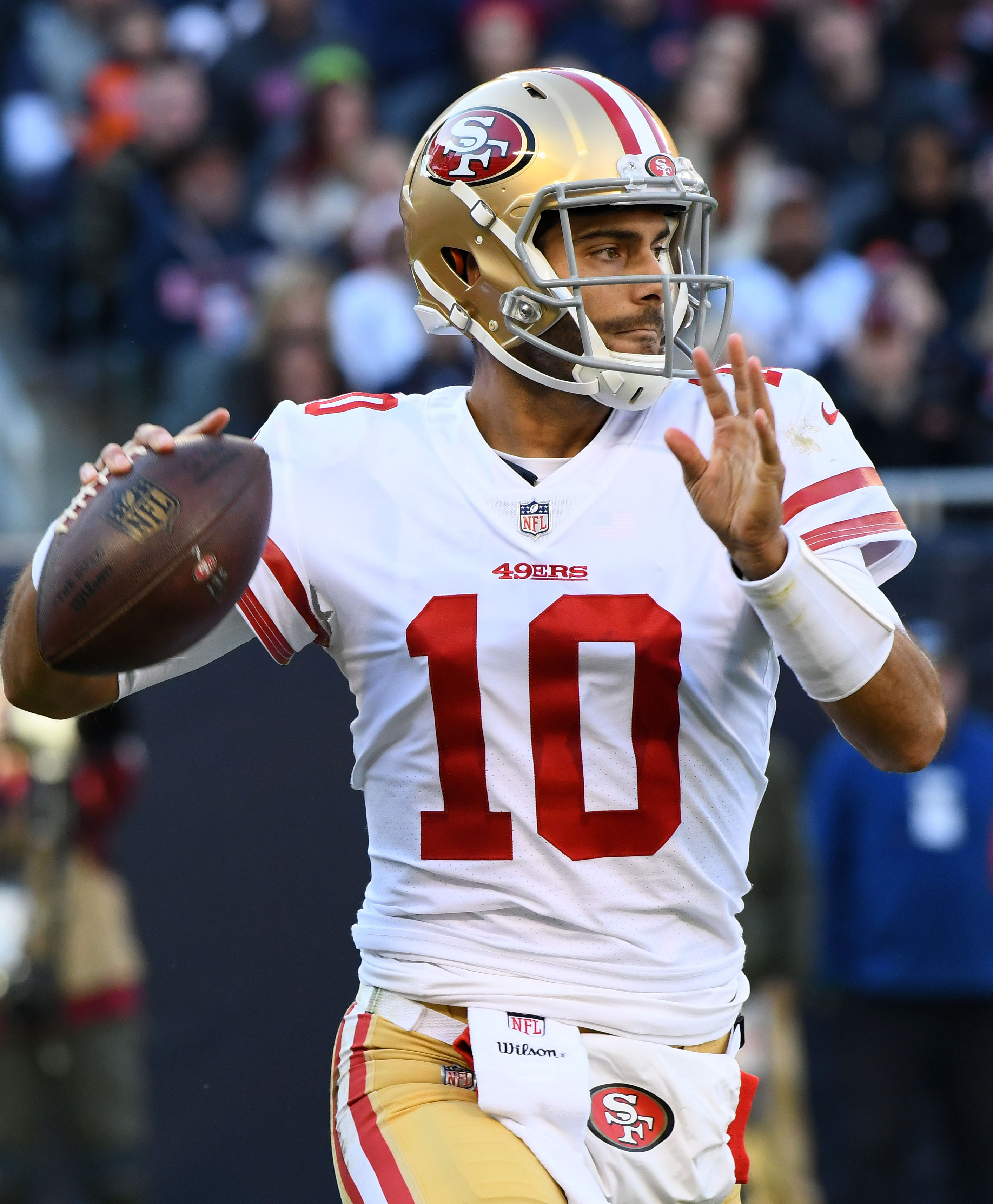 49ers Fear Jimmy Garoppolo Has Torn ACL 6be24a913