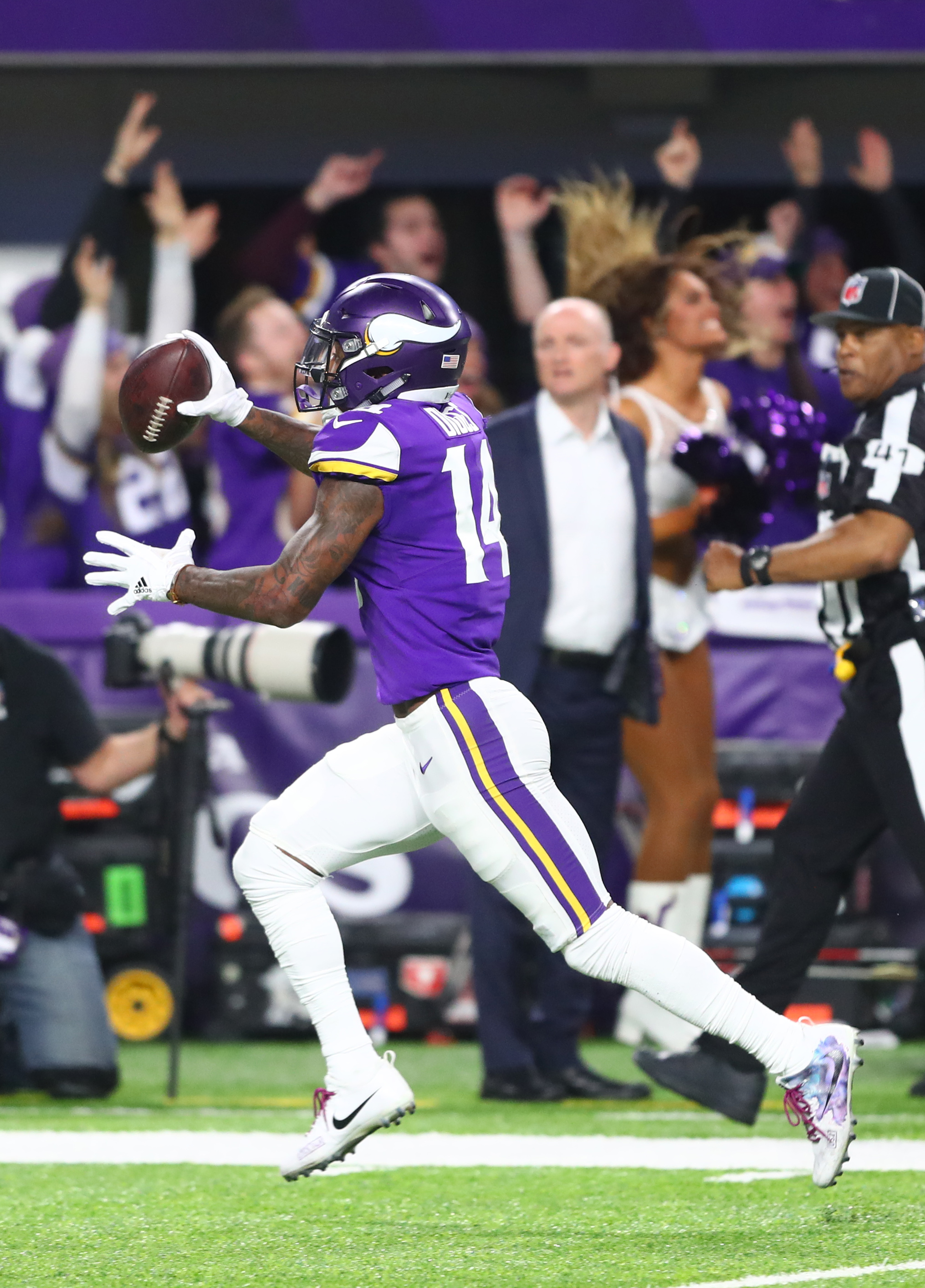 b78900da31c He already has two seasons with more yards than any of Diggs . Thielen led  the Vikes in receiving the past two years