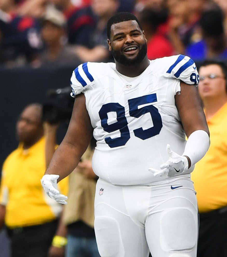huge discount c1768 3a929 DT Johnathan Hankins To Visit Raiders