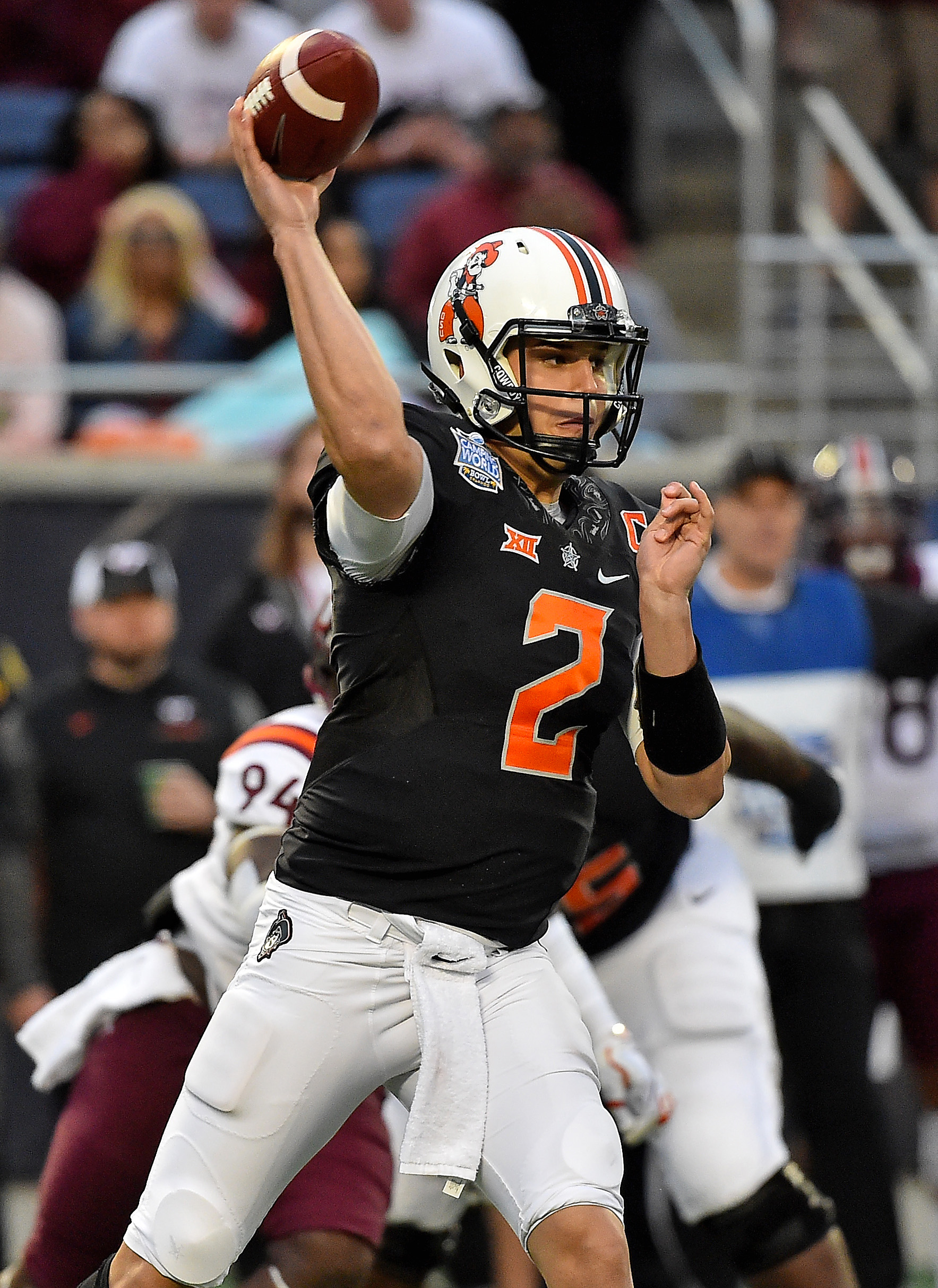 low priced 0e06b 31bc9 Steelers Sign Rookie QB Mason Rudolph