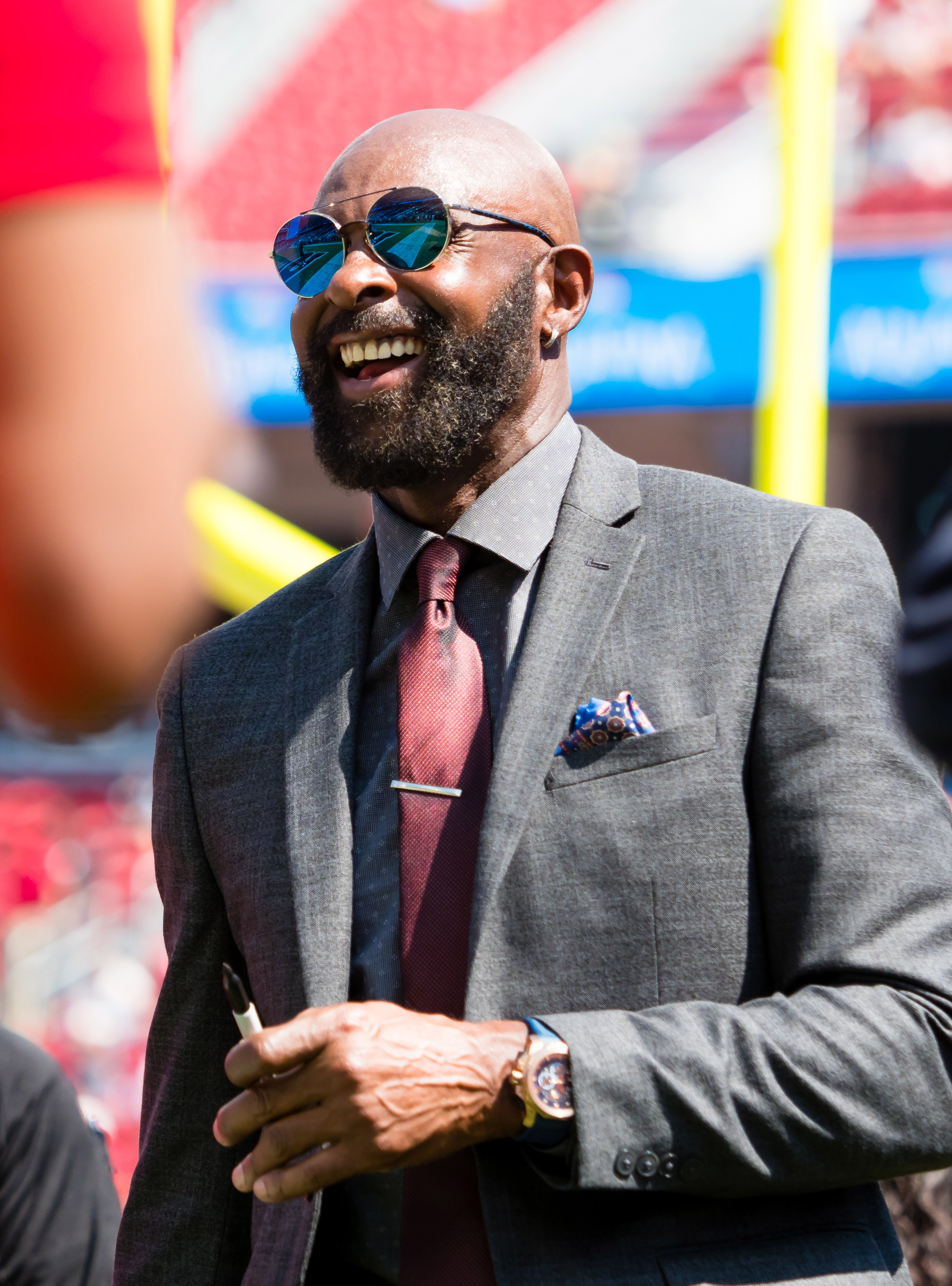 newest 8adf1 a8766 This Date In Transactions History: Broncos Sign Jerry Rice