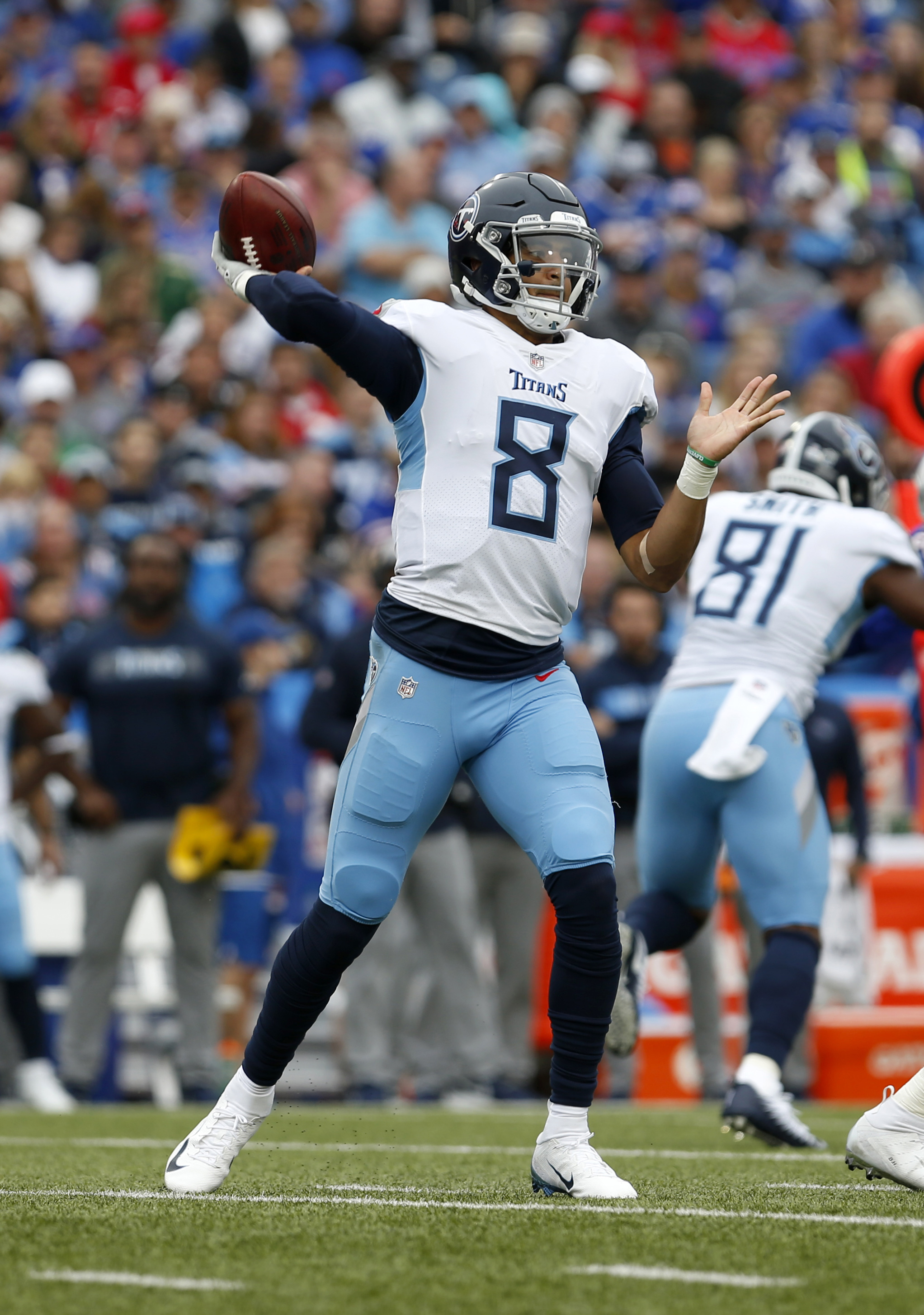 a364eb0c Marcus Mariota's Week 17 Status Uncertain; Titans To Sign Austin Davis