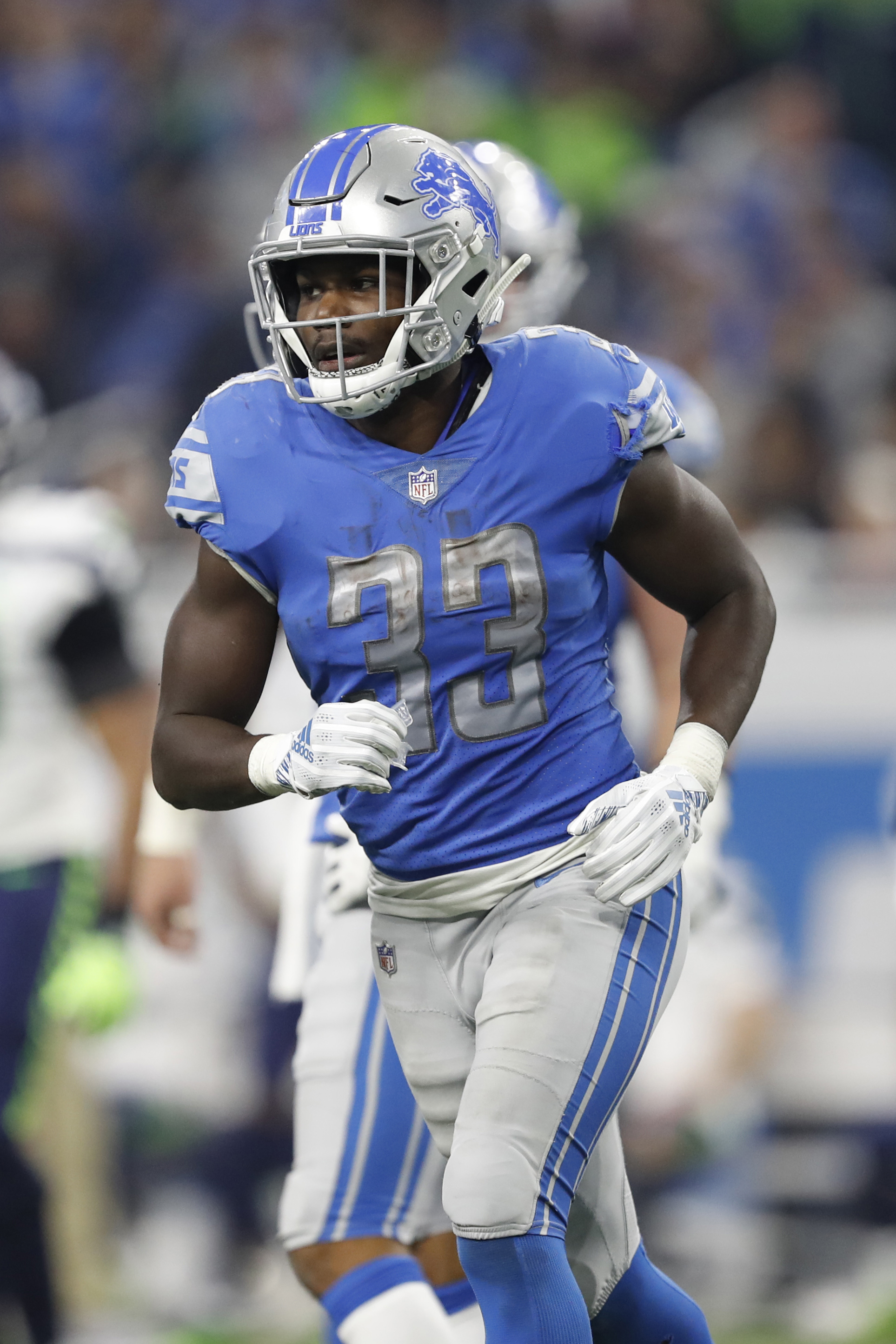 half off ce9aa 6fe4e Lions' Kerryon Johnson To Miss Time
