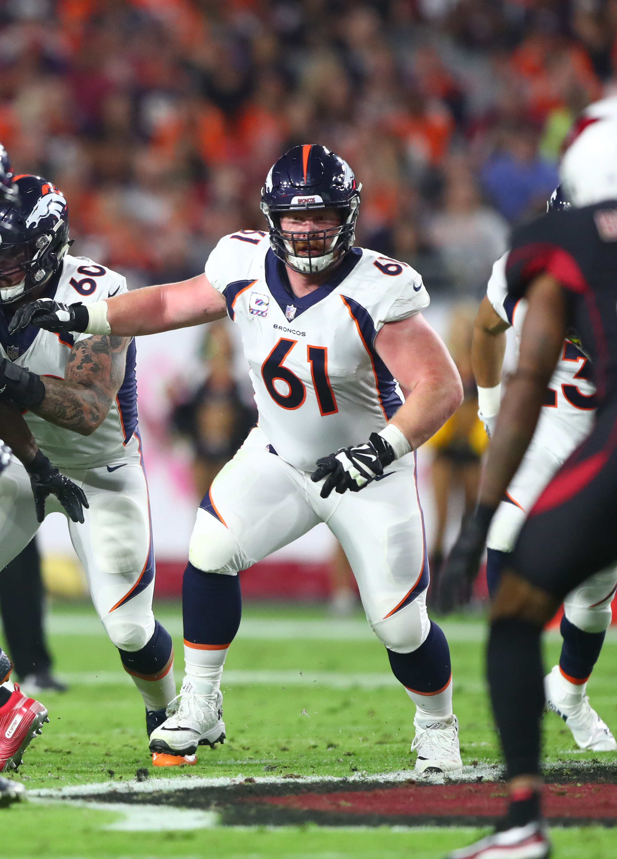 469ffeb123d Broncos Likely To Let Matt Paradis Test Market