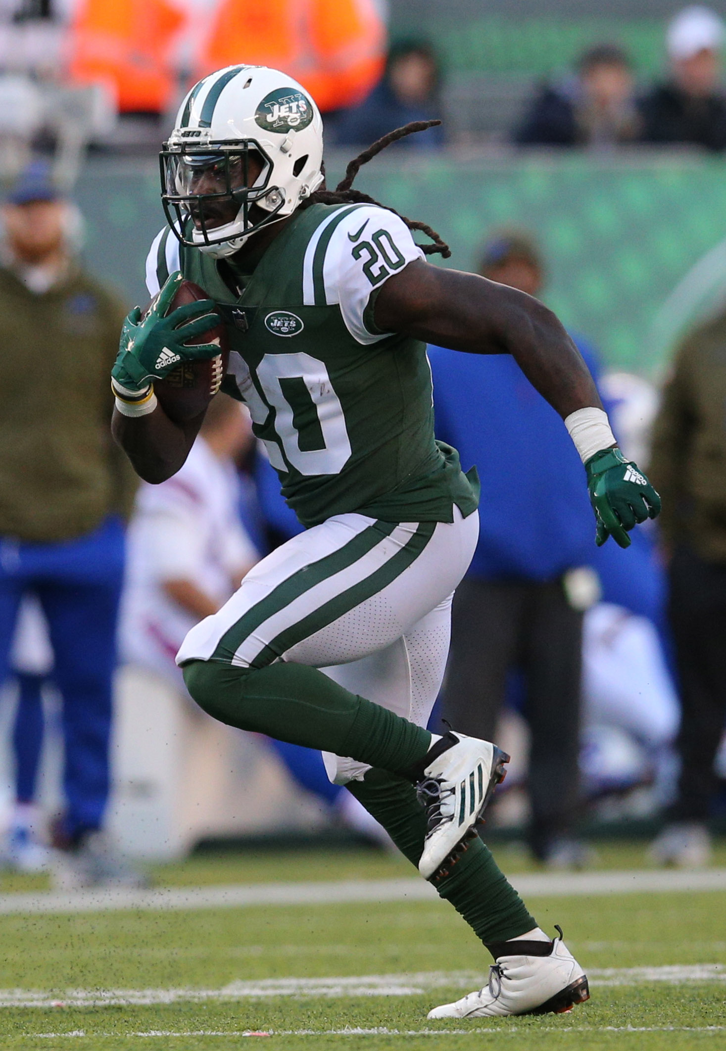 buy online 649d5 f233e Jets Release RB Isaiah Crowell