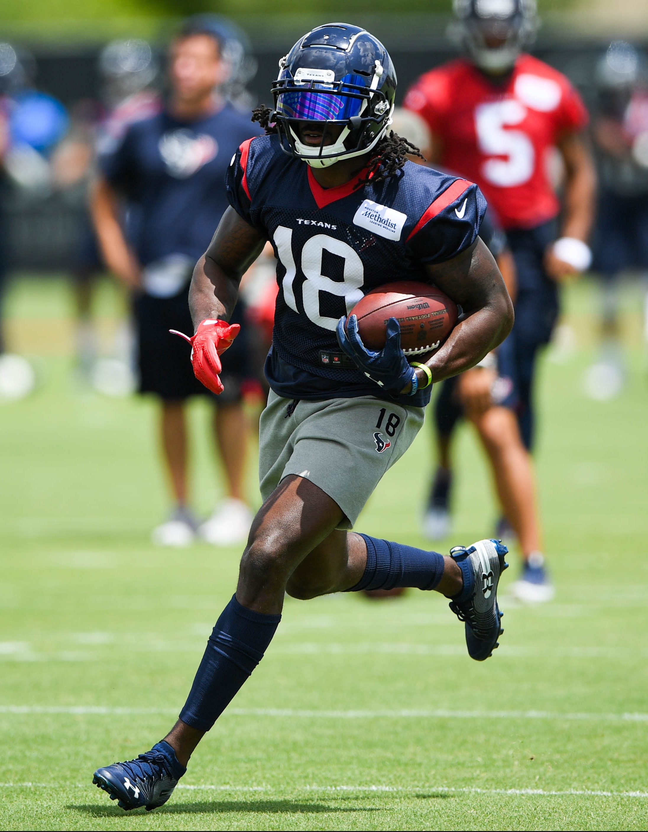 huge selection of b02e2 2f639 Texans Release WR Sammie Coates