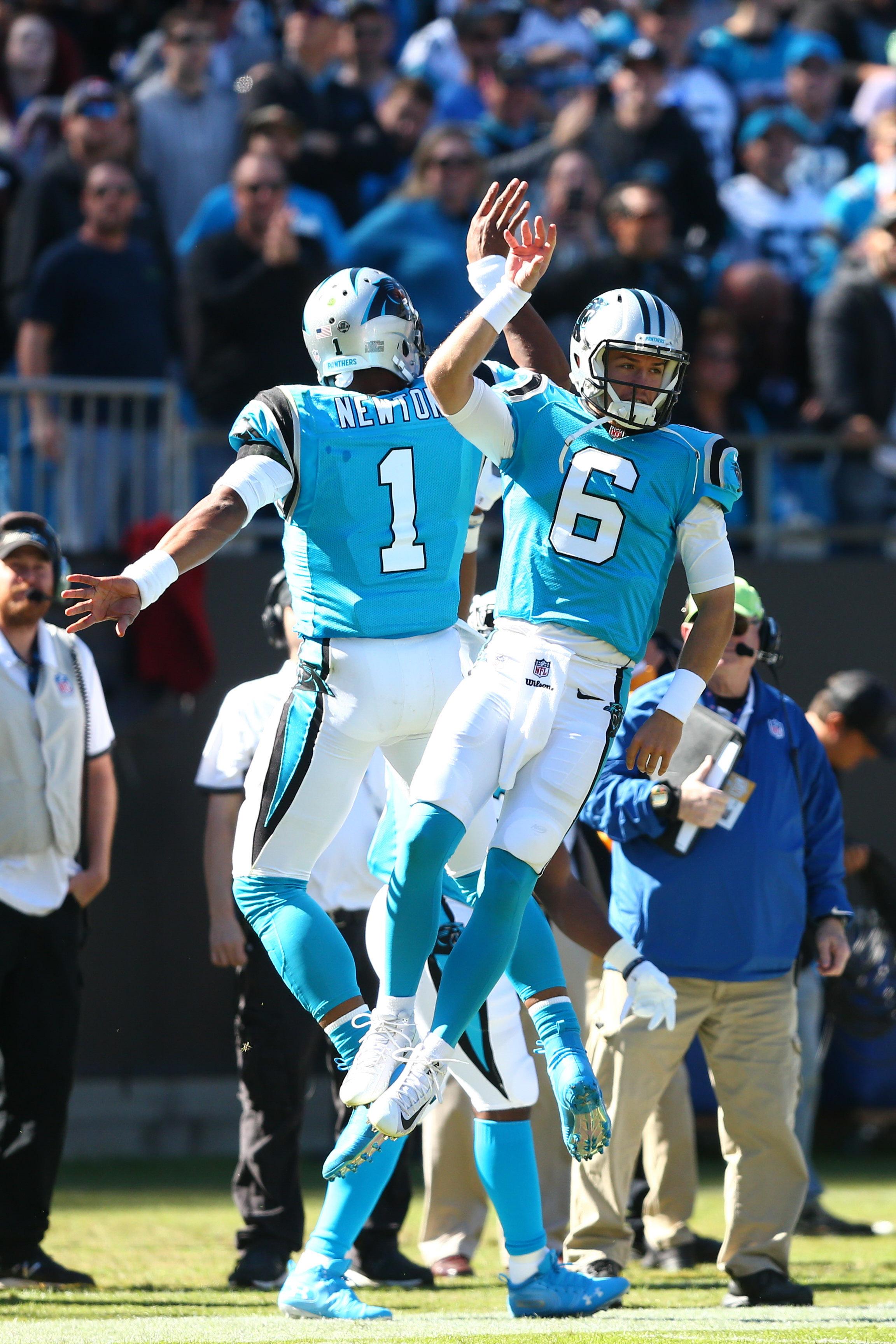 367708257f7e Latest On Panthers  Quarterbacks