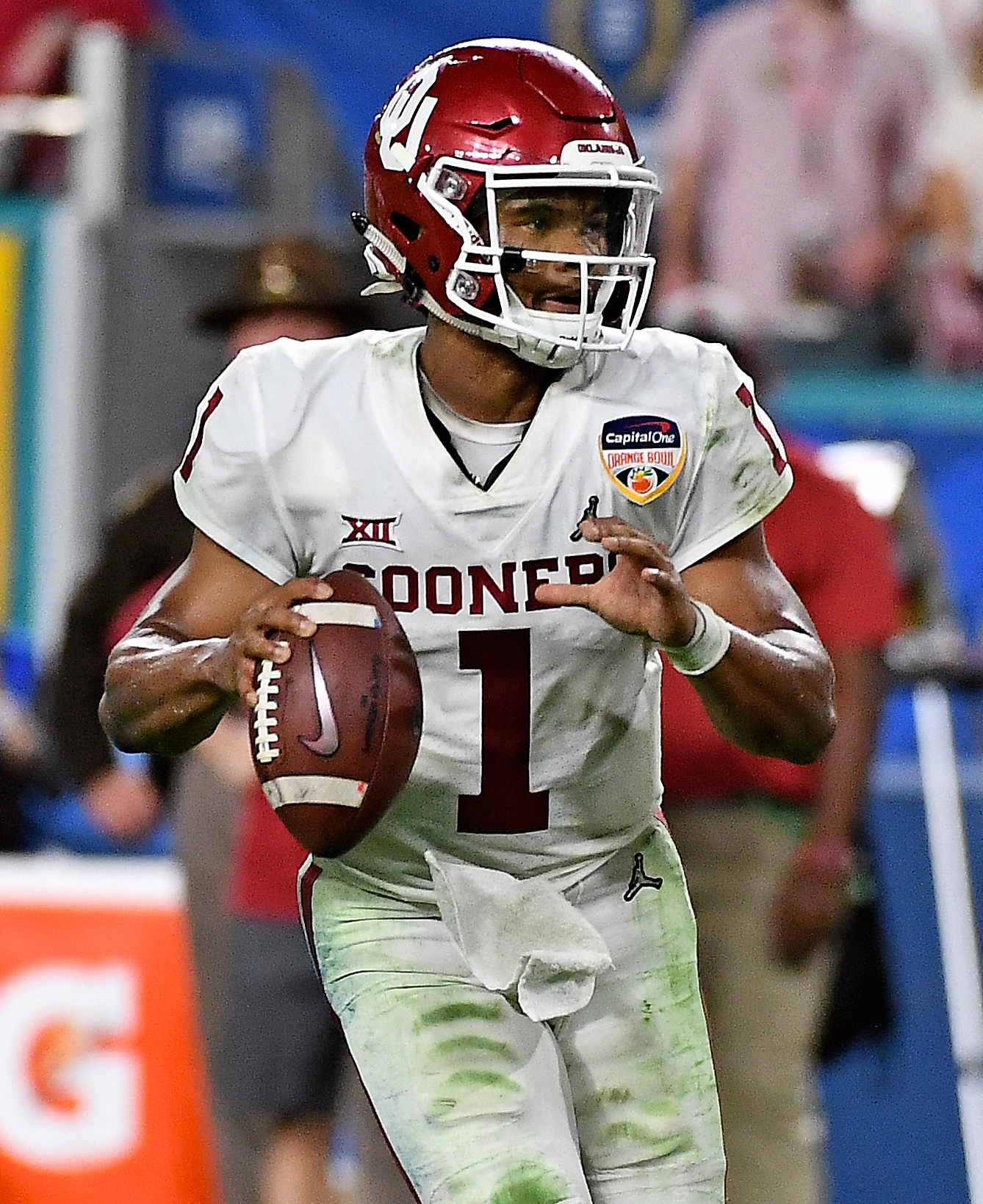 outlet store af8cd 27c78 Poll: Where Will Kyler Murray Be Drafted?