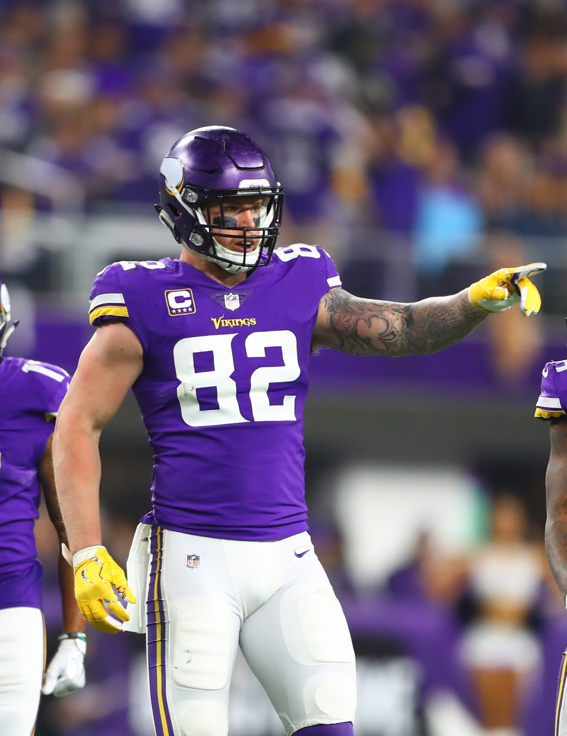 official photos cb36a 31fcc Vikings' Kyle Rudolph: