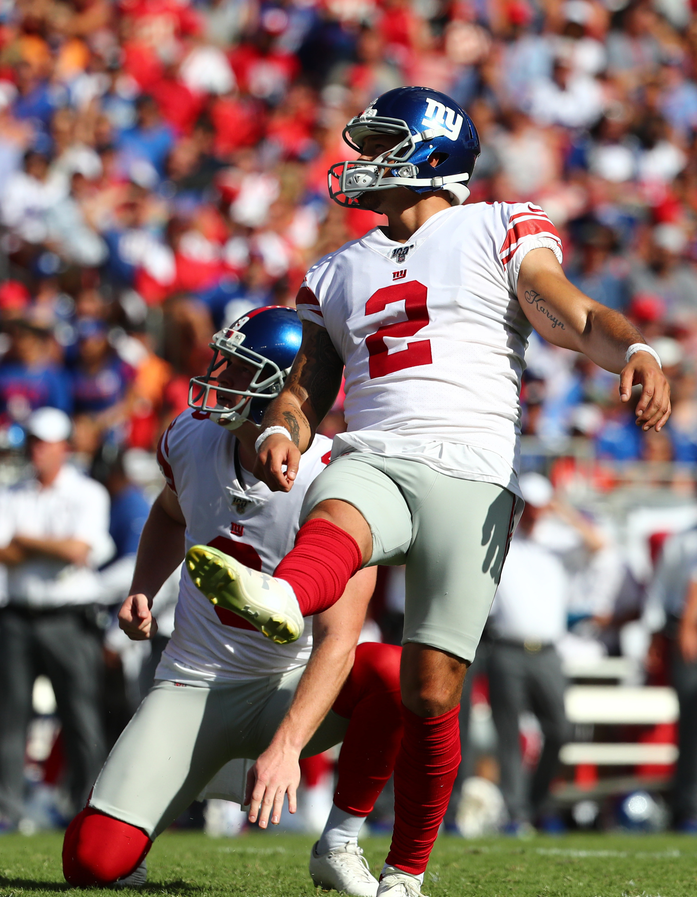 Giants' Aldrick Rosas arrested for alleged hit-and-run